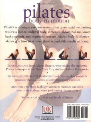 Pilates: Body in Motion Back Cover