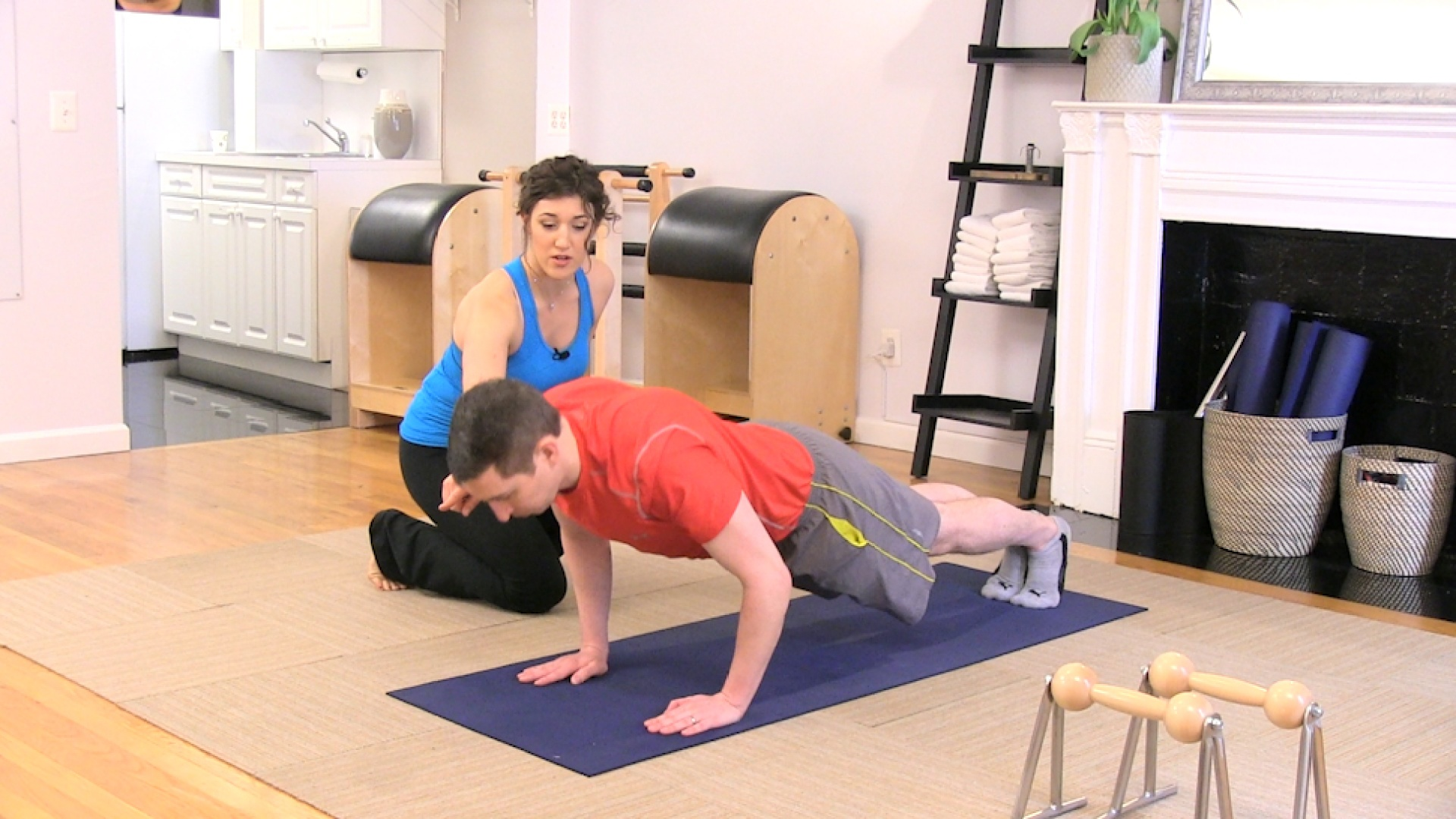 Pilates Plank tips with Victoria Torrie-Capan