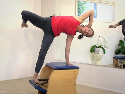 Wunda Chair for Backbending