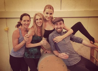 Some of our Pilates family